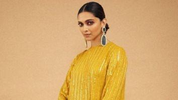 Deepika Padukone is ray of sunshine in yellow Sabyasachi Mukherjee creation