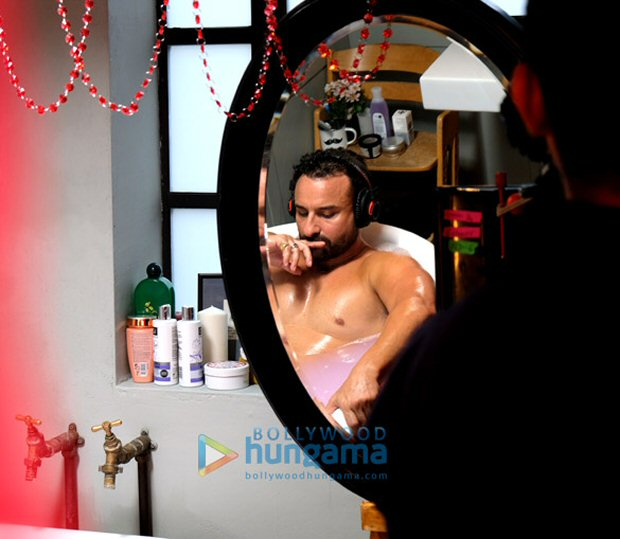 Exclusive: The behind the scenes images of Saif Ali Khan in Jawaani Jaaneman are sure to viral!