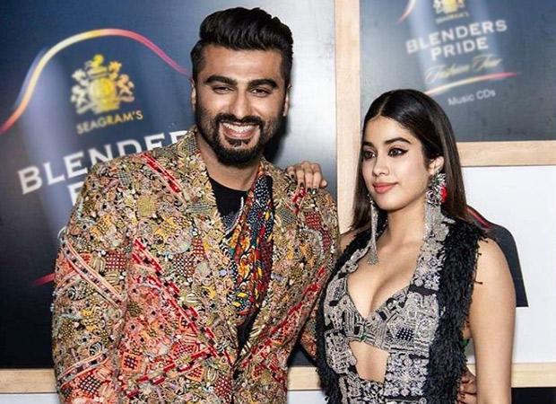 Arjun Kapoor and sister Janhvi Kapoor walk the ramp together for designer Anamika Khanna
