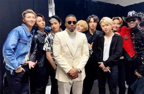 Grammys 2020 Nas Lil Nas X and BTS in one frame post their Old Town Road performance is god tier content 1