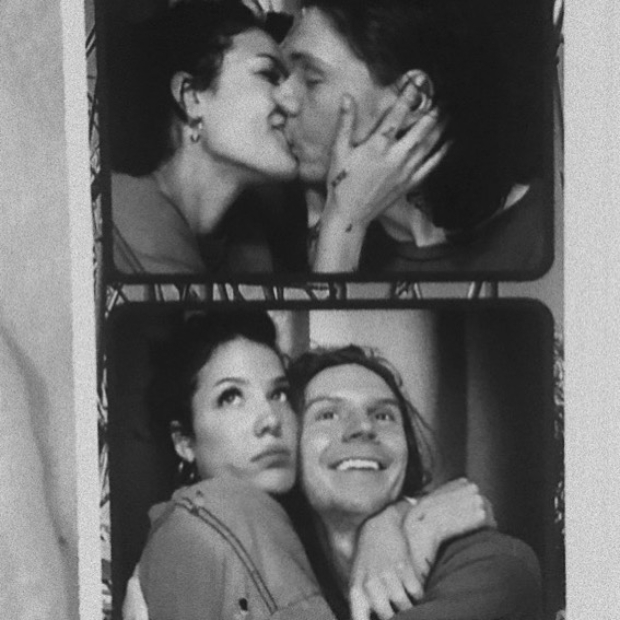 Halsey's birthday message for her 'darling' Evan Peters is romantic