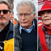 Joaquin Phoenix, Martin Sheen arrested at Jane Fonda's climate change protest