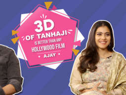 "Kajol ""Ajay Devgn is very Hard-Working, I have not even reached…"" Tanhaji 3D Effects"