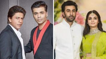 Karan Johar speaks about Shah Rukh Khan's cameo in Alia Bhatt - Ranbir Kapoor's Brahmastra