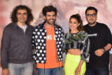 Kartik Aaryan and Sara Ali Khan grace the trailer launch of their film Love Aaj Kal (1)