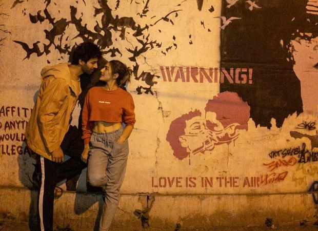 Love is in the air for Love Aaj Kal pair Sara Ali Khan and Kartik Aaryan