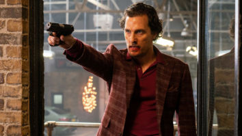 Matthew McConaughey charting a bloody tur in Guy Ritchie's The Gentlemen