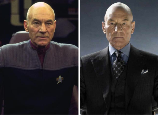 Patrick Stewart is reluctant to compare his characters from Star Trek: Picard and Logan