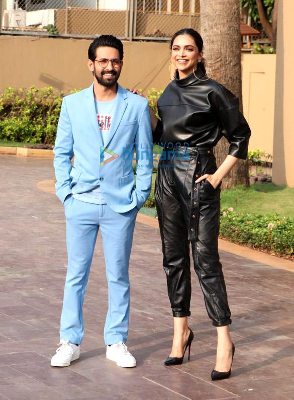 Photos Deepika Padukone and Vikrant Massey snapped promoting their film Chhapaak (3)