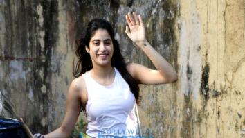 Photos: Janhvi Kapoor and Ileana D'Cruz spotted at the Pilates gym