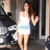 Photos: Janhvi Kapoor and Sara Ali Khan spotted at the Pilates gym
