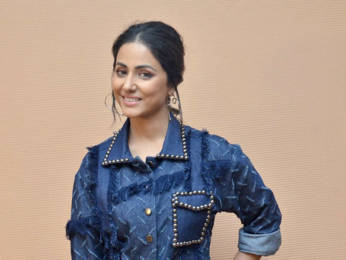 Photos: Hina Khan spotted during Hacked promotions at Ramada Hotel, Juhu