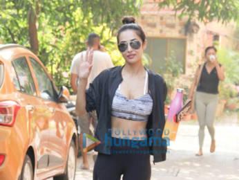 Photos: Malaika Arora, Amrita Arora and Kunal Khemu spotted at the gym