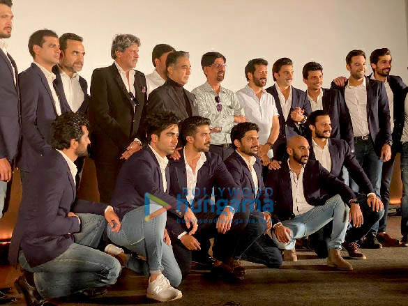 Photos Ranveer Singh and Team '83 snapped at poster launch in Chennai (3)