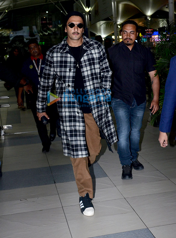 Photos: Ranveer Singh snapped at the airport