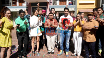 Photos: Varun Dhawan and Shraddha Kapoor snapped on the sets of Tarak Mehta Ka Ooltaah Chashmah
