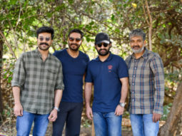 RRR: Ram Charan, Ajay Devgn and Jr. NTR shoot for SS Rajamouli's grand period drama