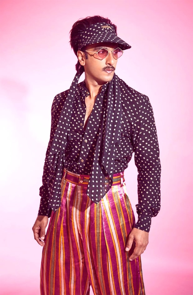 Ranveer Singh delivers another zany style moment in his retro Sabyasachi avatar