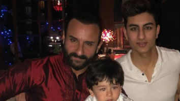 Saif Ali Khan has a HILARIOUS response when asked, what if he, Ibrahim and Taimur like the same girl in a club