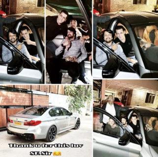 Salman Khan gifts Dabangg 3 villain Kichcha Sudeep a BMW M5 worth Rs. 1.55 crores!
