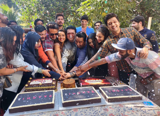 Shraddha Kapoor wraps up the shoot for Baaghi 3 with the entire team