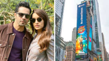 Varun Dhawan and Shraddha Kapoor starrer Street Dancer 3D posters get featured at the Times Square, New York!
