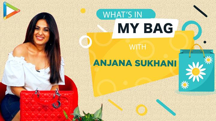 What's in my bag with Anjana Sukhani Fashion Lifestyle Bollywood Hungama