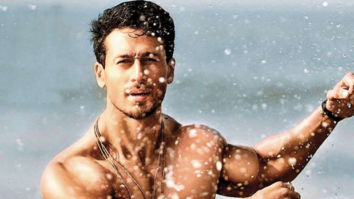 Tiger Shroff does a perfect flip over a car in this BTS photo from War