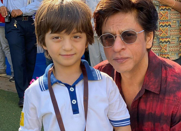 Shah Rukh Khan is a proud dad as little AbRam wins two medals at a school race