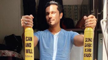 Makers of Radhe: Your Most Wanted Bhai ban single-use plastic bottles on sets, Randeep Hooda shares photo