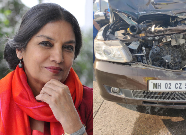 FIR filed against Shabana Azmi's driver for rash driving