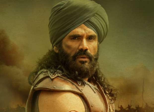 Marakkar Arabikadalinte Simham: Suniel Shetty unveils his first look as Chandroth Panicker in the Mohanlal starrer