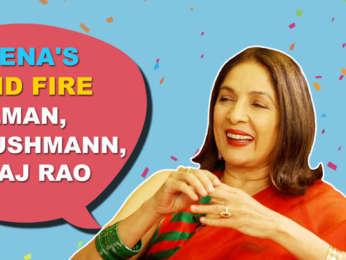 """Salman Khan - Very Good Looking, Ayushmann - My TEACHER"" Neena Gupta Rapid Fire SMZS"