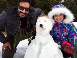 Ajay Devgn shares an adorable throwback picture with Abigail Eames