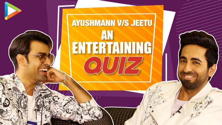 Ayushmann & Jeetu's PAISA VASOOL fight- a quiz on films on Homosexual relationships SMZD