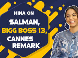 "BIGG BOSS 13 - Salman Khan STANDS for so long like 12-14 hours, he is…"" Hina Khan Cannes Remark"
