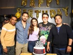 Baaghi 3 trio Tiger Shroff, Shraddha Kapoor, Ahmed Khan join Sajid Nadiadwala's birthday bash