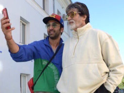 Brahmastra Amitabh Bachchan shares four pictures with Ranbir Kapoor, says he needs to keep up with his enormous talent!