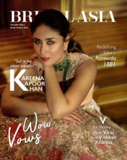 Kareena Kapoor Khan On The Covers Of Bridal Asia