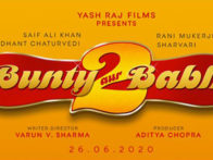 First Look Of The Movie Bunty Aur Babli 2