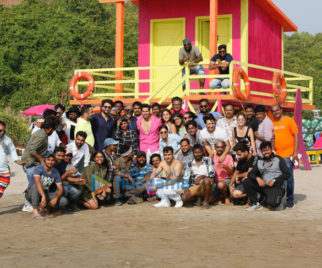 On The Sets Of The Movie Coolie No. 1