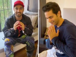 Diljit Dosanjh visits Angad Bedi to wish him a speedy recovery post his surgery