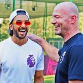 Ranveer Singh has a fanboy moment with English footballer Alan Shearer