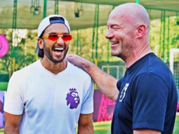 Ranveer Singh has a fanboy moment with English footballer Alan Shearer