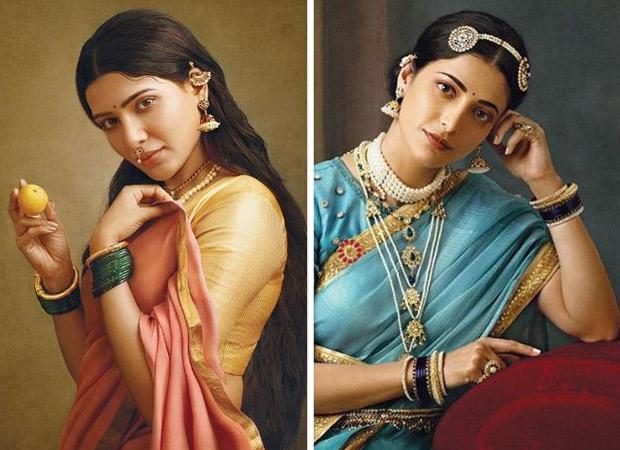 South actresses Samantha Akkineni, Shruti Haasan, Aishwarya Rajessh and Ramya Krishnan bring to life the iconic paintings of Raja Ravi Varma