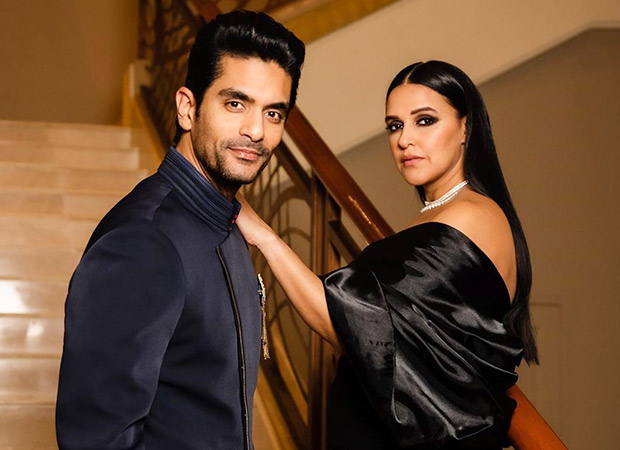 Watch: Neha Dhupia cheers for husband Angad Bedi as he heads for a knee surgery