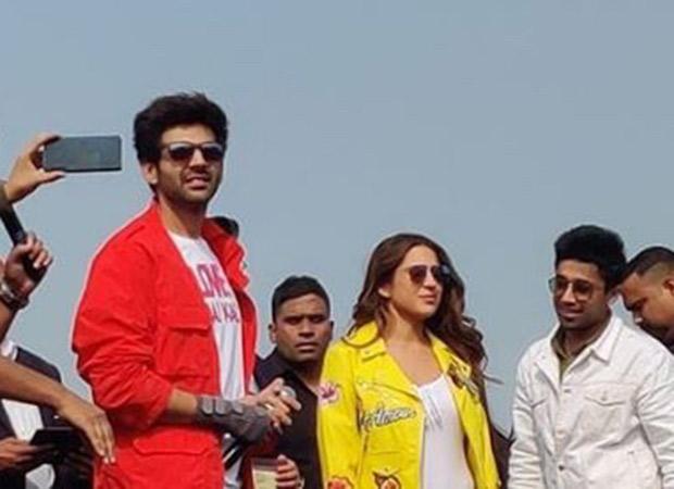 Watch: Fans address Sara Ali Khan as bhabhi as she visits Agra with Kartik Aaryan
