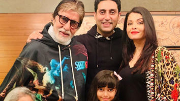 Abhishek Bachchan celebrates his 44th birthday with the family, see photos