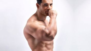 HOT! John Abraham poses shirtless in just a towel for Dabboo Ratnani's calendar shoot
