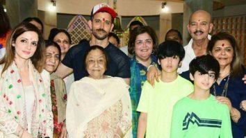 Hrithik Roshan praises his mother during Maha Shivratri celebration